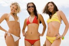 Drei Mädchen Stockfoto