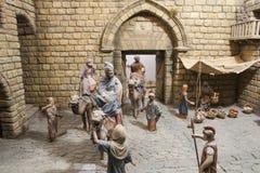 Drei magische Könige sind nach Bethlehem gekommen Lizenzfreies Stockbild