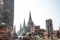 Drei Pagode, Wat Phra Si Sanphet lizenzfreie stockbilder
