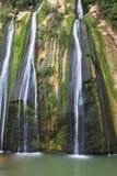 Drei parallele Ströme Wasser Lizenzfreies Stockfoto