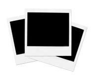 Drei Polaroide Stockfotografie