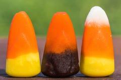 Drei Süßigkeits-Körner Stockfotos