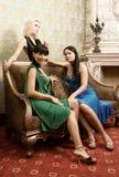 Drei schöne Mädchen Stockbilder