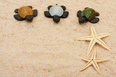 Drei Schildkröten Lizenzfreie Stockfotografie