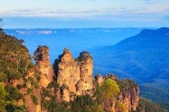 Drei Schwestern Australien Stockbilder