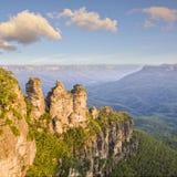 Drei Schwestern Katoomba Australien lizenzfreie stockfotos