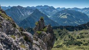 Drei Schwestern and Switzerland, Austria and Liechtestein Royalty Free Stock Photos