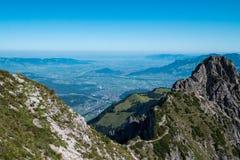 Drei Schwestern and Switzerland, Austria and Liechtestein Royalty Free Stock Photo