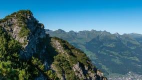 Drei Schwestern und die Schweiz, Österreich und Liechtestein Lizenzfreies Stockbild