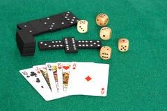 Drei Spiele zu spielen Lizenzfreie Stockbilder