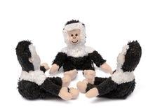 Drei Spielzeugaffen Lizenzfreies Stockbild