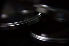 Drei Splitter-Ringe Stockfoto