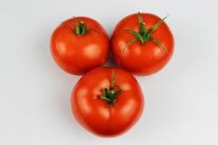 Drei Tomaten Stockfoto