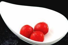 Drei Tomaten Lizenzfreie Stockbilder