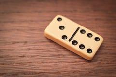 Drei und sechs Dominos Lizenzfreies Stockbild