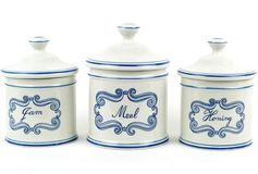Drei ursprüngliche Vasen Stockfotos