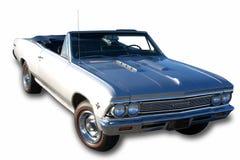 Drei Viertelansicht 1966 Klassiker-Auto Lizenzfreie Stockbilder