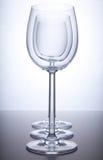 Drei Weingläser Stockbild