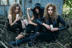 Weinlese-Frauen Leder Jacke/Mller Leder Jacke/Genuine