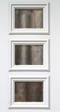 Drei Windows Muster Stockfoto