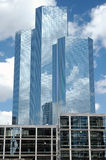 Drei Wolkenkratzer in Paris Lizenzfreies Stockfoto