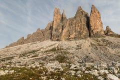 Drei Zinnen, Dolomites, Italy Stock Images