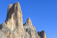 Drei zinnen Mountain Peaks Royalty Free Stock Images