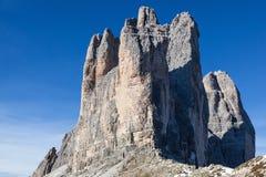 Drei zinnen Mountain Peaks Royalty Free Stock Image