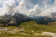 Drei Zinnen Nature Park in Dolomites Royalty Free Stock Photos