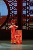 Drei Zoll goldene Lotus-chinesische Plum Blossom Prize Art Troupe Lizenzfreies Stockfoto