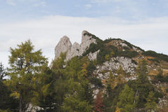 Dreibrüderkogel mountain Stock Image
