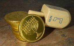 Dreidel stock photos