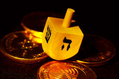Dreidel Photographie stock