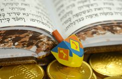 Dreidel Photo stock