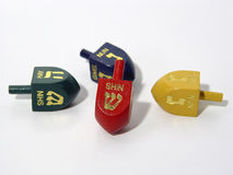Dreidels. Photo of Dreidels stock images