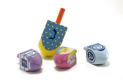 Dreidels royalty free stock photo