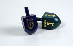 Dreidels Royalty Free Stock Images