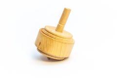 Dreidels dla Hanukkah, Robić drewno zdjęcie royalty free