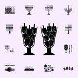 dreidels icon. Hanukkah icons universal set for web and mobile royalty free illustration