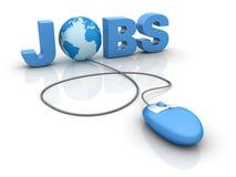 Internet-Jobs Lizenzfreie Stockfotos