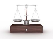 Gewichts-Skala Lizenzfreies Stockbild