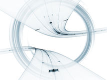 Dreidimensionaler Strudel-Auszug Lizenzfreie Stockfotografie