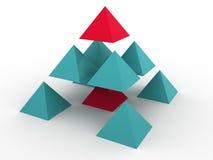 Dreidimensionales Konzept Lizenzfreie Stockbilder