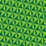 Dreieck-abstrakter grüner Hintergrund lizenzfreie abbildung