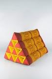 Dreieck-Kissen Lizenzfreies Stockfoto