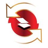 Dreieck Logo Concept Stockbild