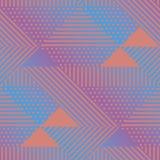 Dreieck und geometrisches nahtloses Muster der Punkte vektor abbildung
