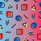 Dreieck und Quadrat Stockfotos