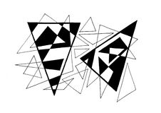 dreiecke Lizenzfreies Stockbild