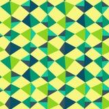 Dreiecke backgound nahtloses Muster stock abbildung